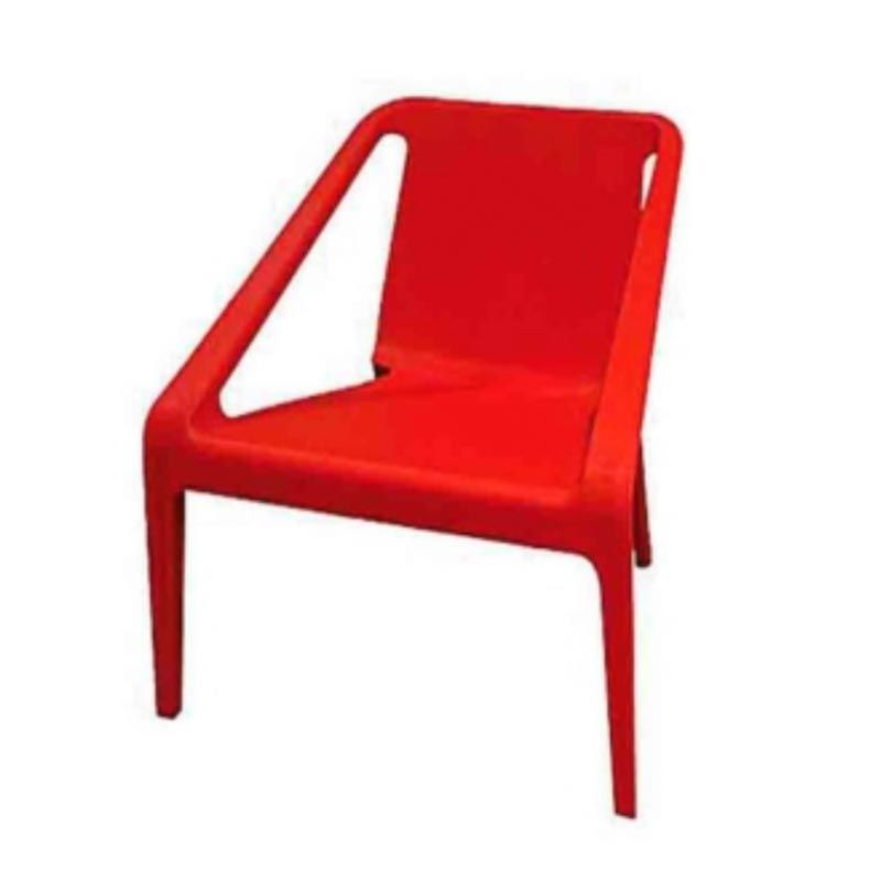 Charlotte chair red