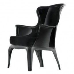 Pasha armchair black